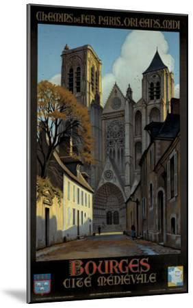 Bourges-Constant Leon Duval-Mounted Giclee Print