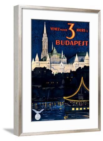 Budapest-Polya Tibor-Framed Giclee Print