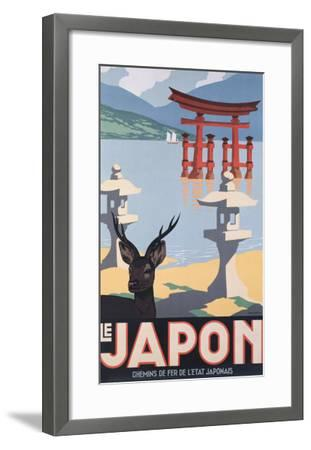 Le Japon-P^ Erwin Brown-Framed Giclee Print