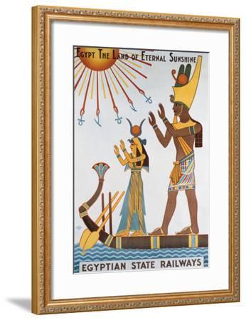 Egyptian State Railways- Kalfa-Framed Giclee Print