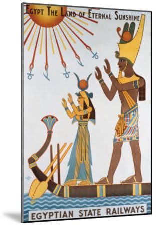 Egyptian State Railways- Kalfa-Mounted Giclee Print