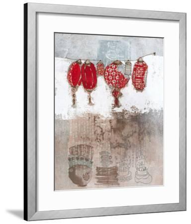 Lampions-Helene Druvert-Framed Art Print
