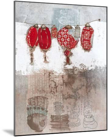 Lampions-Helene Druvert-Mounted Art Print