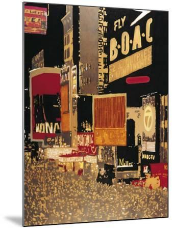 Broadway-Bruno Wekemans-Mounted Art Print