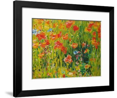 Poppies, 1888-Robert William Vonnoh-Framed Art Print