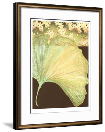 Filigree Ginkgo II-Erica J^ Vess-Framed Limited Edition