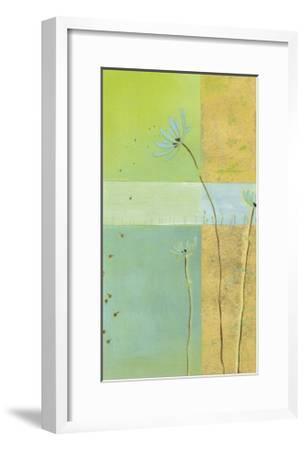 Blue Seedlings II-Erica J^ Vess-Framed Limited Edition