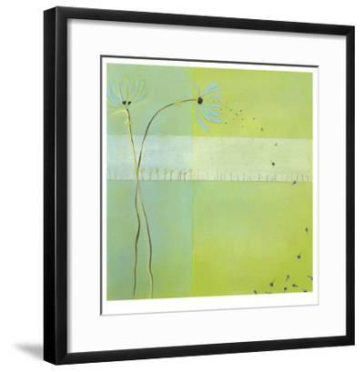 Blue Seedlings III-Erica J^ Vess-Framed Limited Edition