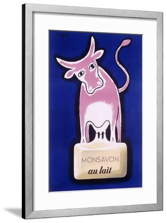 Monsavon au Lait-Raymond Savignac-Framed Giclee Print