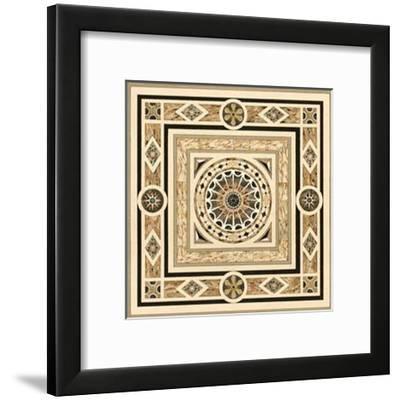 Fontainebleau Mosaique I--Framed Art Print
