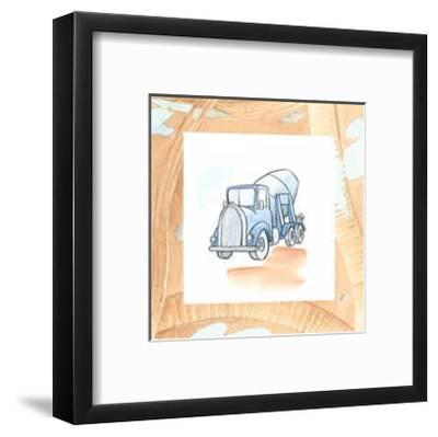 Charlie's Cement Mixer-Charles Swinford-Framed Art Print