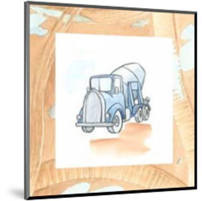 Charlie's Cement Mixer-Charles Swinford-Mounted Art Print