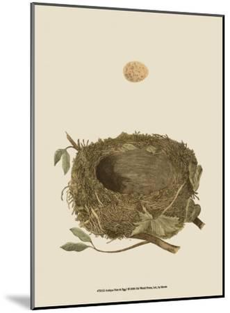 Antique Nest and Egg I-Reverend Francis O^ Morris-Mounted Art Print