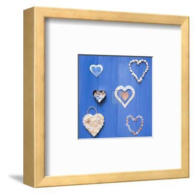 Captured Hearts II-Bill Philip-Framed Art Print