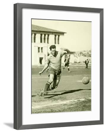 Swiss Ac Rovers Soccer Player Poster-Photo Archive Underwood-Framed Giclee Print