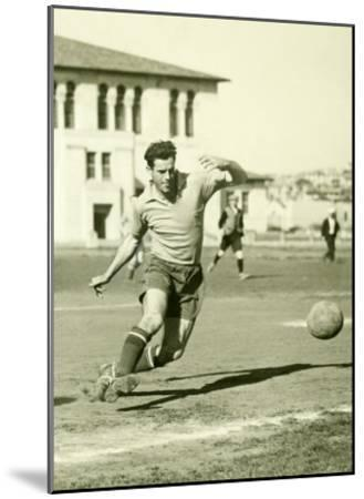 Swiss Ac Rovers Soccer Player Poster-Photo Archive Underwood-Mounted Giclee Print