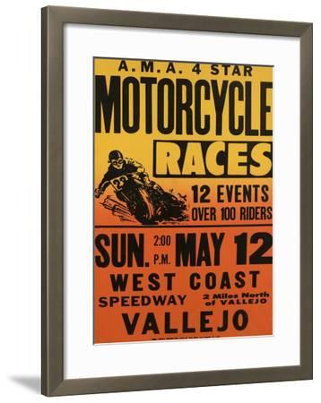 Vallejo, California--Framed Giclee Print