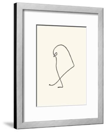 Le Moineau, c.1907-Pablo Picasso-Framed Serigraph