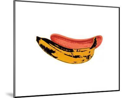 Banana, 1966-Andy Warhol-Mounted Art Print