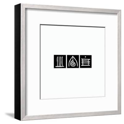 Zen Squares I-Lily Alexander-Framed Art Print