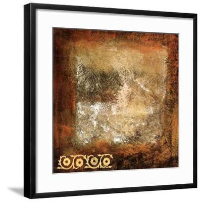 Ornato I-R^ Lange-Framed Art Print