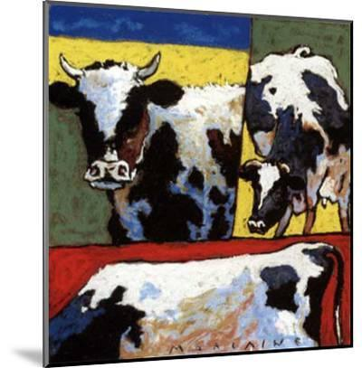 Les Trois Vaches-Morlaine-Mounted Art Print