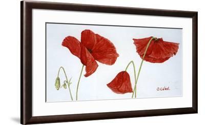 Summertime-Olvia Celest-Framed Art Print