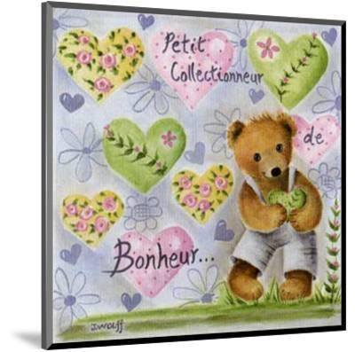 Petit Collectionneur de Bonheur-Jo?lle Wolff-Mounted Art Print