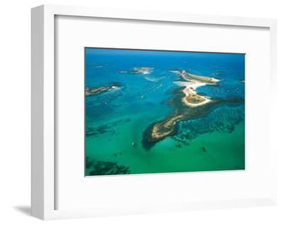 Iles de Glenan-Yannick Le Gal-Framed Art Print