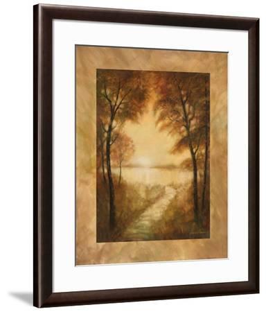 Landscape Tranquility II-Ruane Manning-Framed Art Print