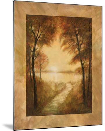 Landscape Tranquility II-Ruane Manning-Mounted Art Print