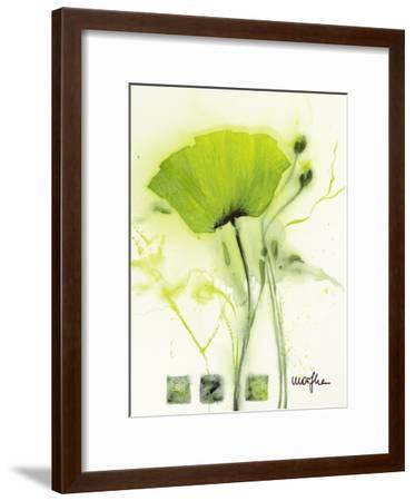 Coquelicot Vert I-Marthe-Framed Art Print