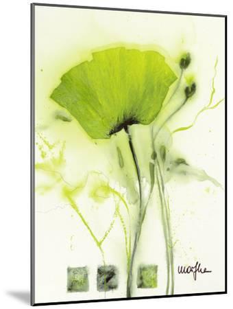 Coquelicot Vert I-Marthe-Mounted Art Print
