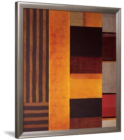 Court of the Crimson King-Steve Joy-Framed Art Print