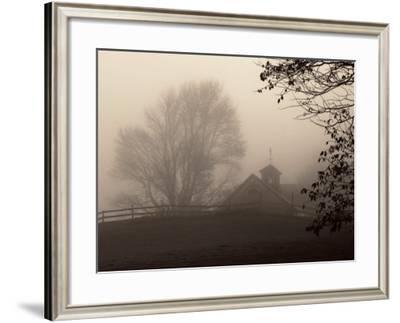 Parish Hill Barn-Christine Triebert-Framed Art Print