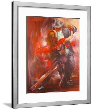 Tango Argentino II-Pedro Alvarez-Framed Art Print