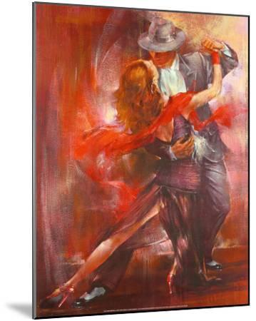Tango Argentino II-Pedro Alvarez-Mounted Art Print