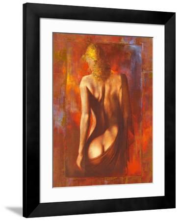 Modesty-Alain Dumas-Framed Art Print