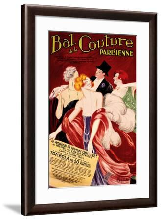 Bal de la Couture Parisienne-Leonetto Cappiello-Framed Giclee Print