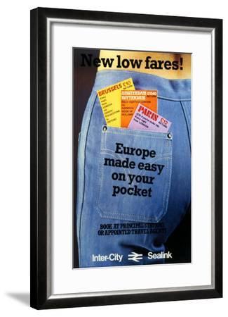 Inter-City Sealink--Framed Giclee Print