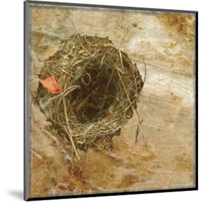 Nest Red Leaf-Susan Friedman-Mounted Art Print