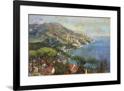 Coastal Reflection-Michael Longo-Framed Art Print