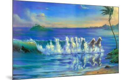 Galloping Waves-Jim Warren-Mounted Art Print