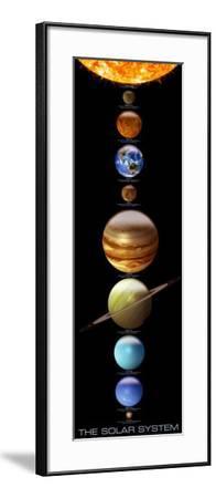 Solar System--Framed Poster