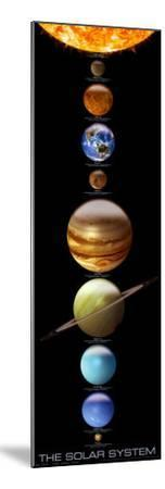 Solar System--Mounted Poster