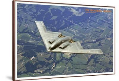Airplane B2 Bomber Spirit--Framed Premium Giclee Print