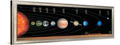 Solar System--Framed Premium Giclee Print