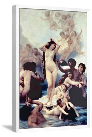 The Birth of Venus, 1879-William Adolphe Bouguereau-Framed Premium Giclee Print