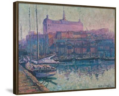Le Bassin Louise, Quebec 1923-Suzanne Duquet-Framed Premium Giclee Print