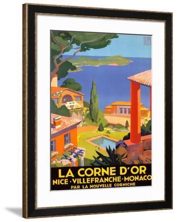 La Corne d'Or--Framed Giclee Print
